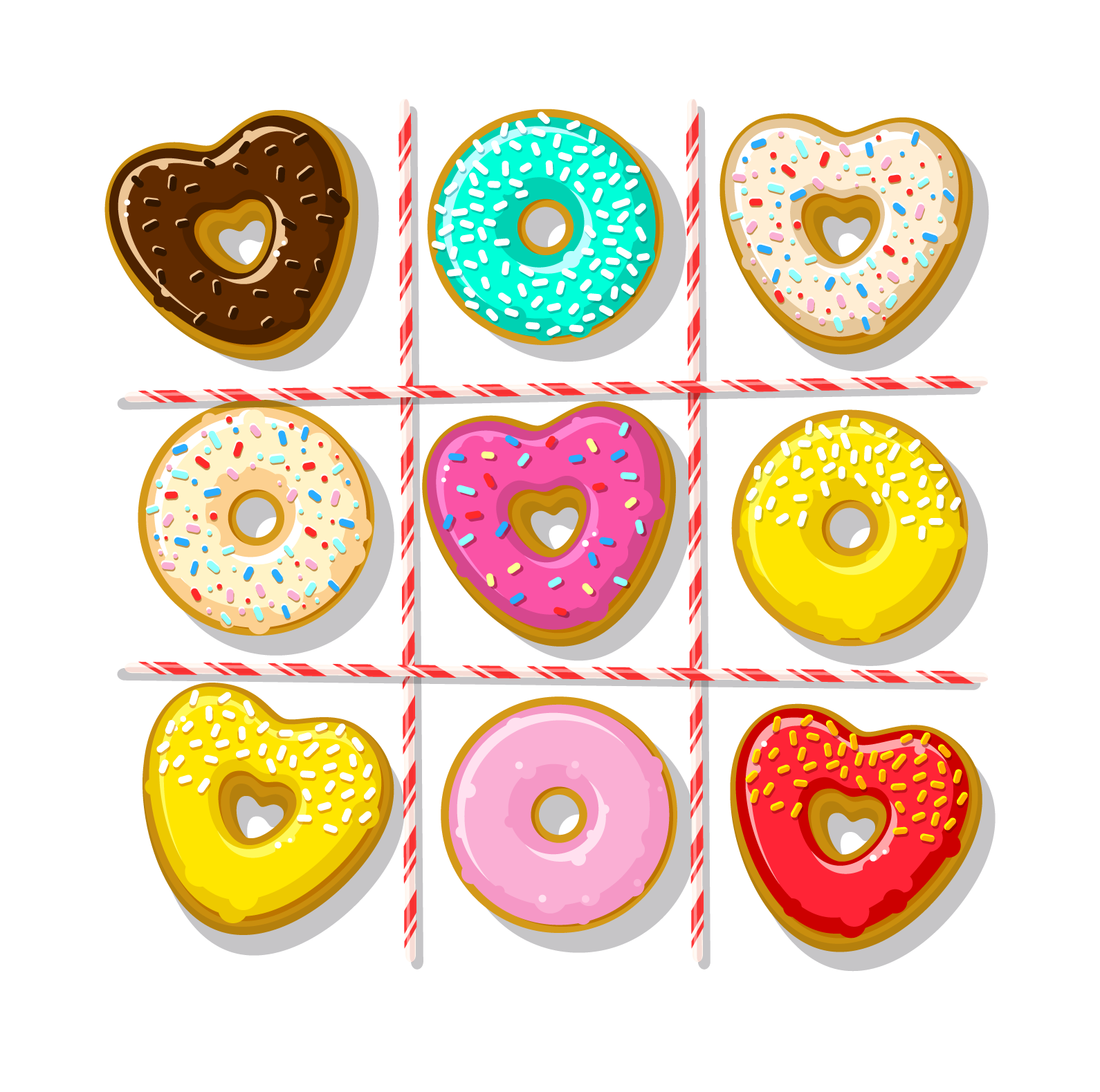 Online order at o. Clipart heart donut