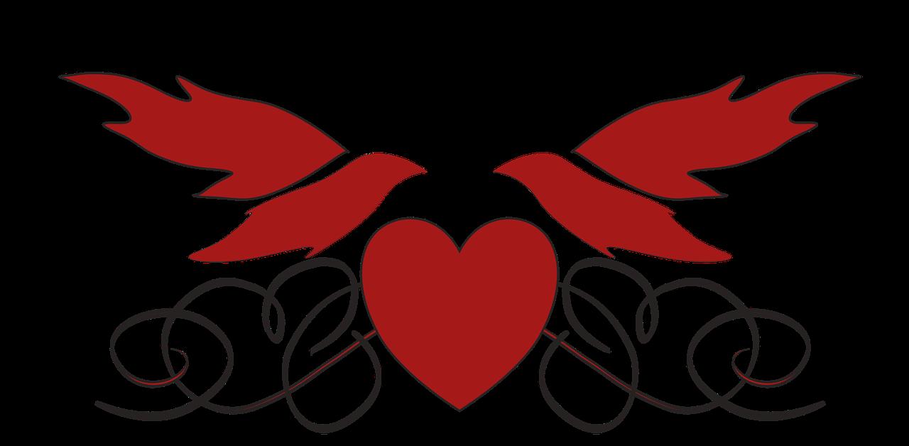 Doves clipart love dove. Wedding heart romance transparent