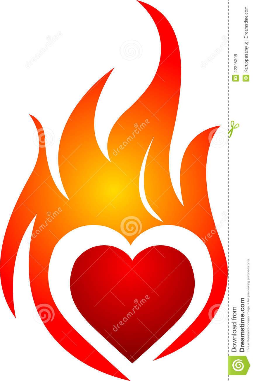 Clip art arts for. Clipart heart fire
