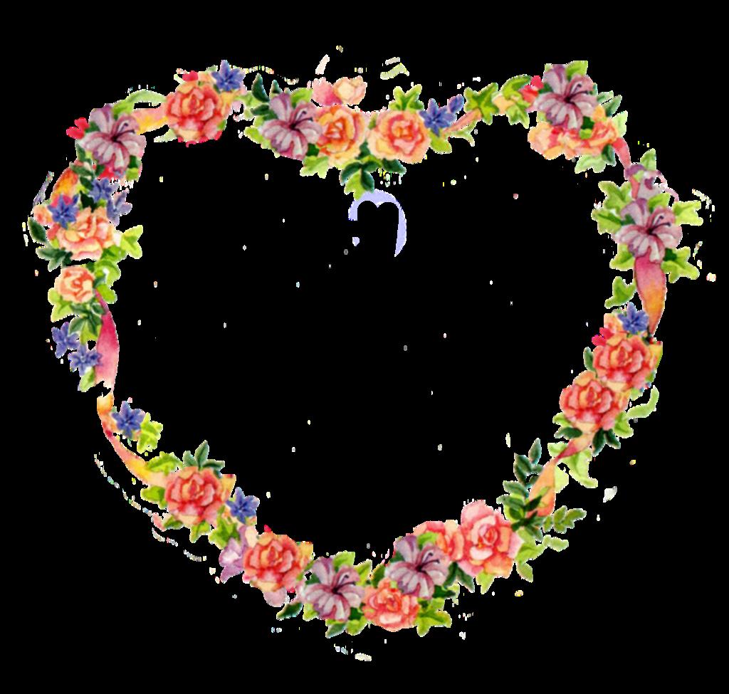 Hearts clipart bouquet. Floral heart tattoos jinifur