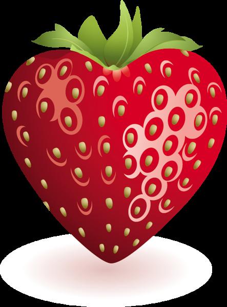 Heart clip art fruit. Strawberries clipart strawberry field