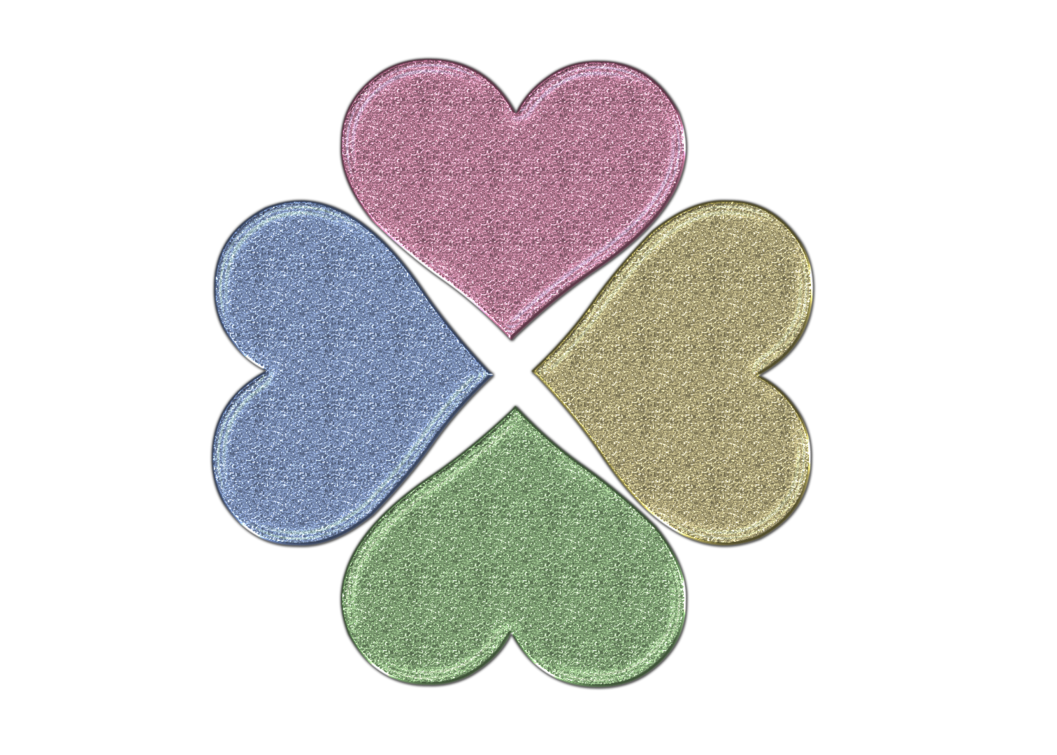 Heart png by princessdawn. Clover clipart glitter