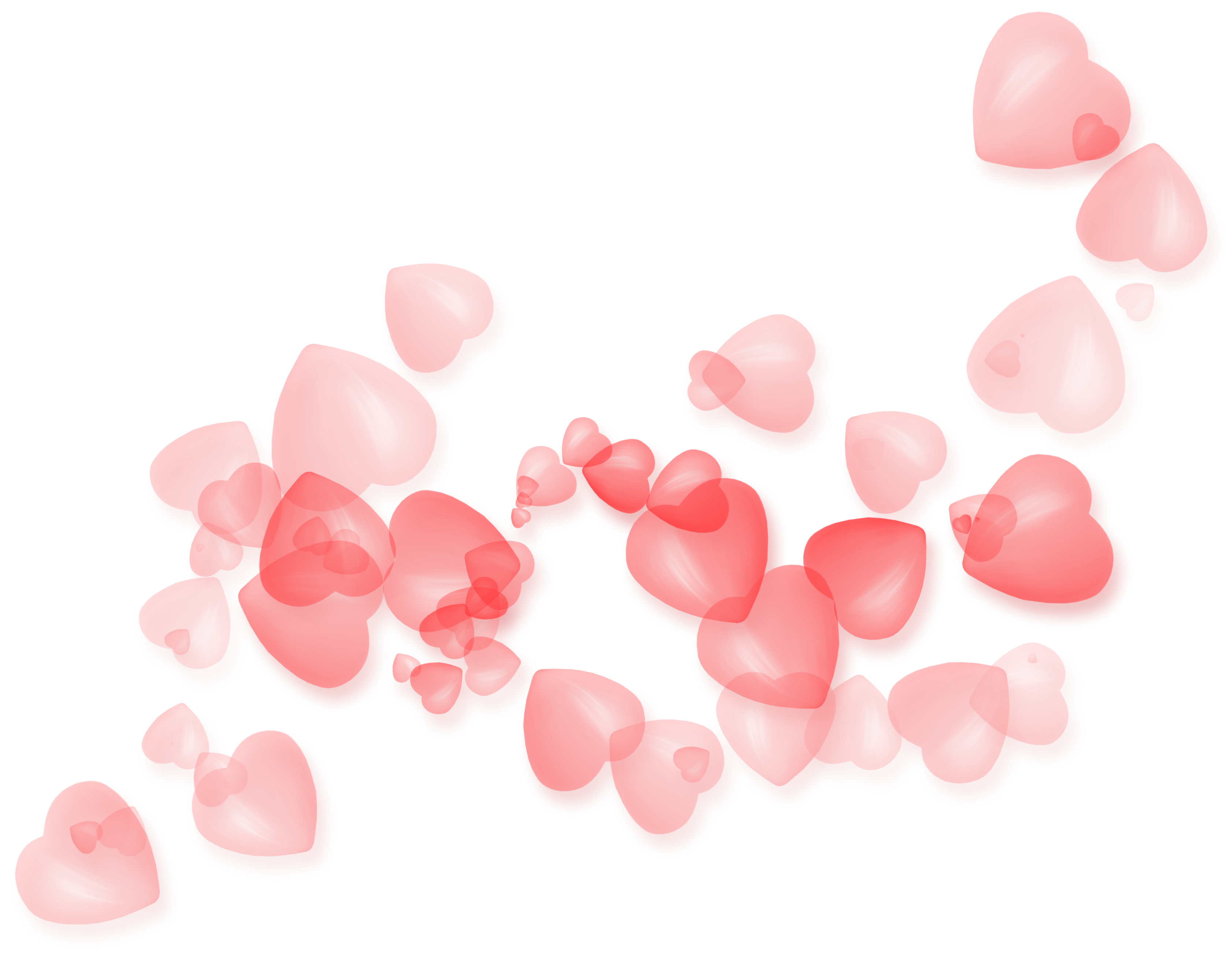 Decor png picture gallery. Hearts clipart transparent background