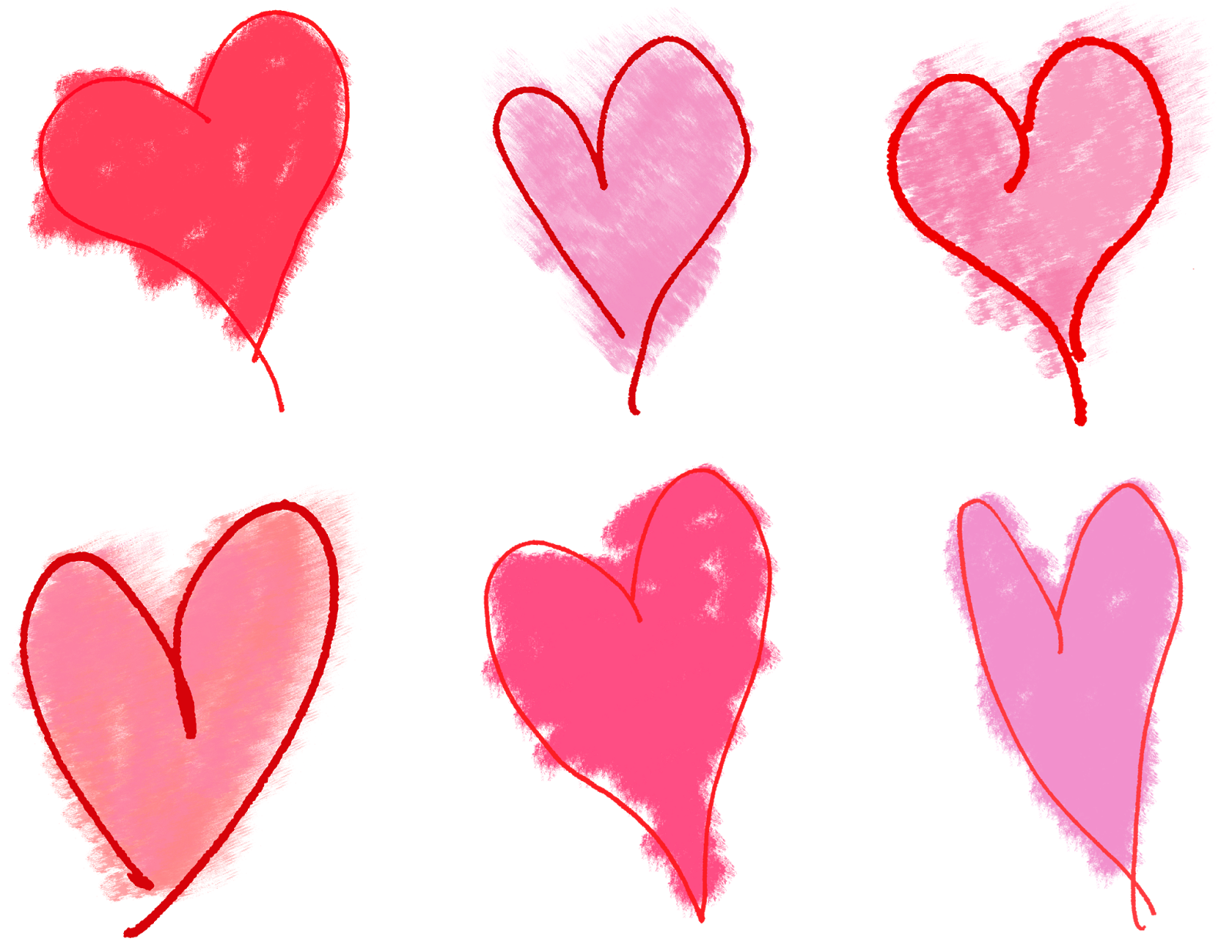 Heart clipart hand drawn. The graphics monarch free