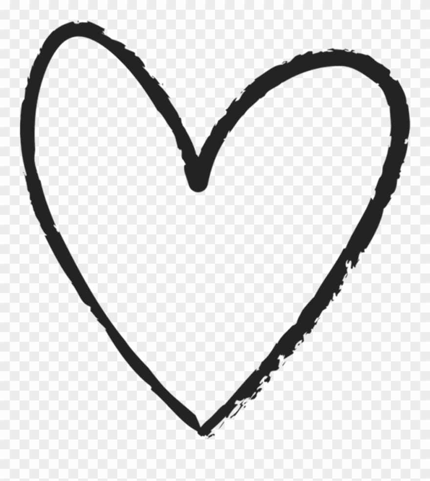 Scribble heart library download. Hearts clipart hand drawn