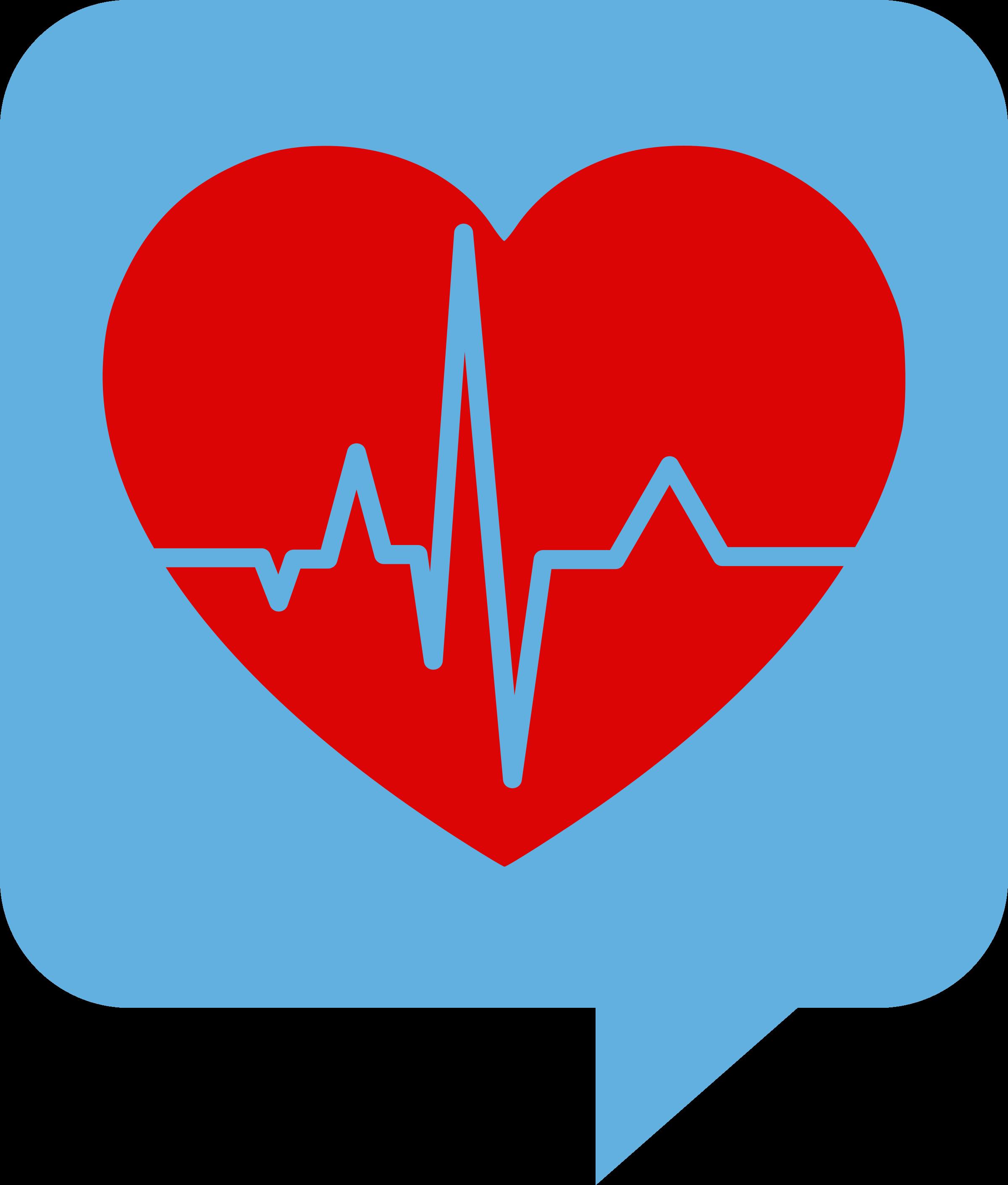 Health clipart health symbol. Heartbeat logo for se