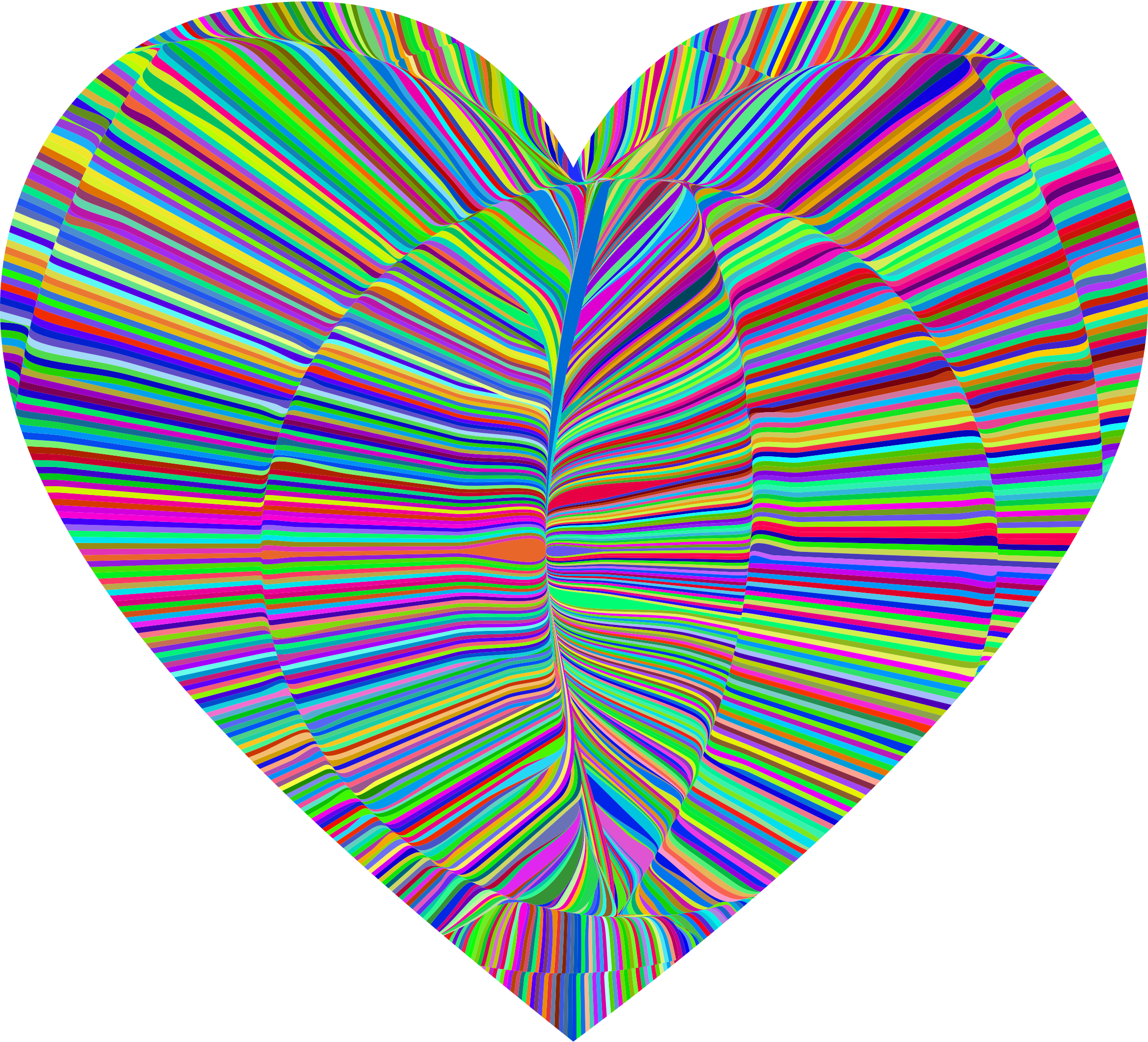 Peace clipart psychedelic flower. Folds heart big image