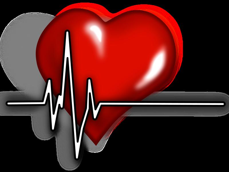 Heart clipart science. Ecg logo medium image