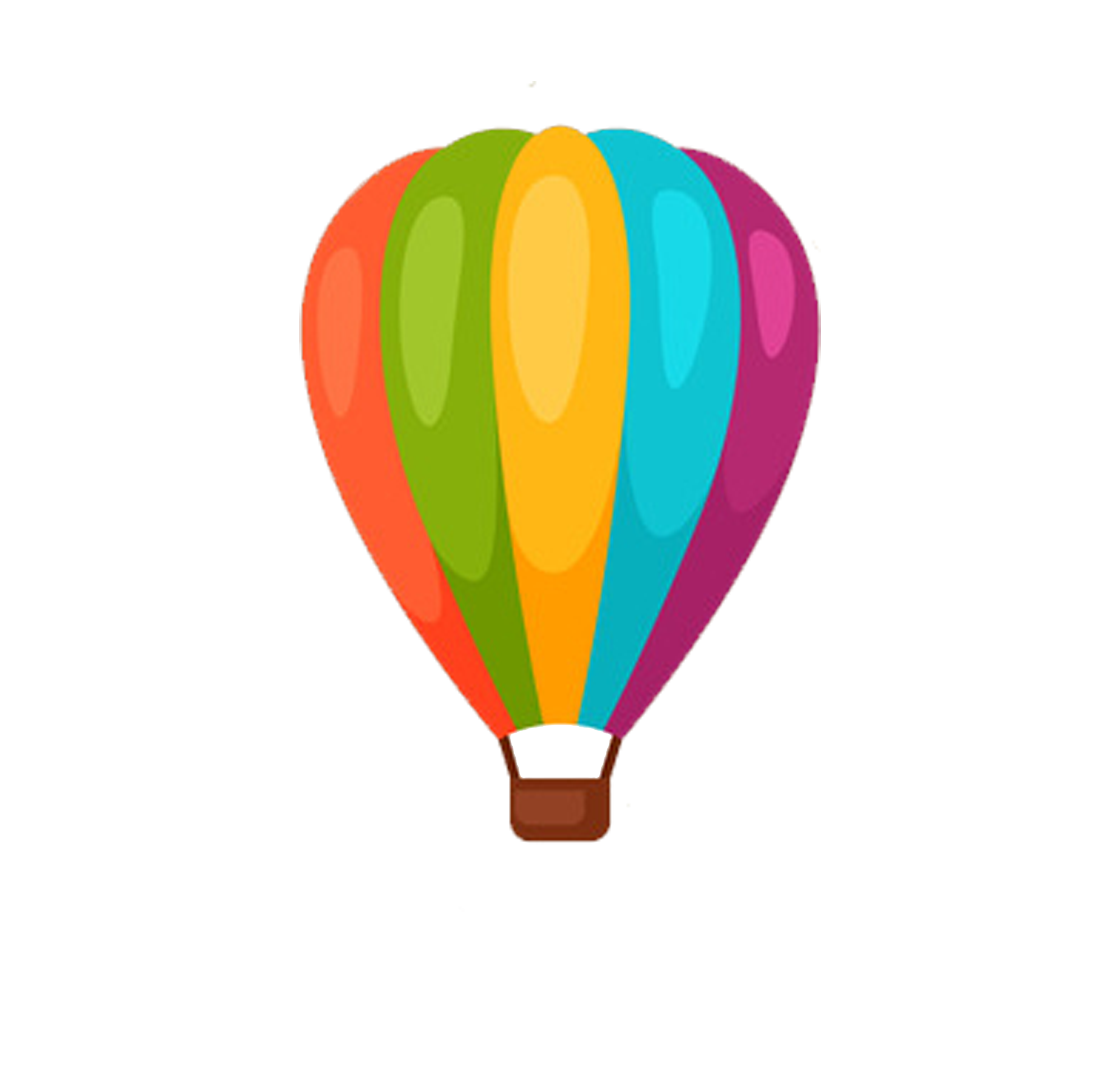 Gas clipart air ballon. Hot balloon cartoon