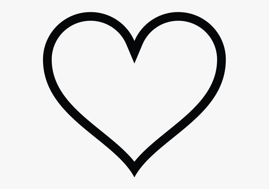 Heart shaped instagram white. Hearts clipart icon