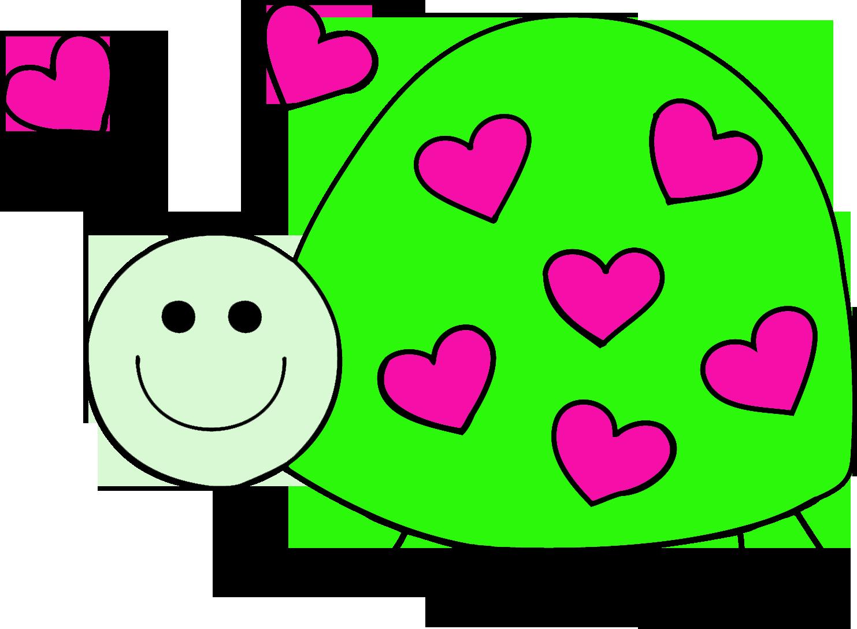 Love lbladybug . Ladybugs clipart heart