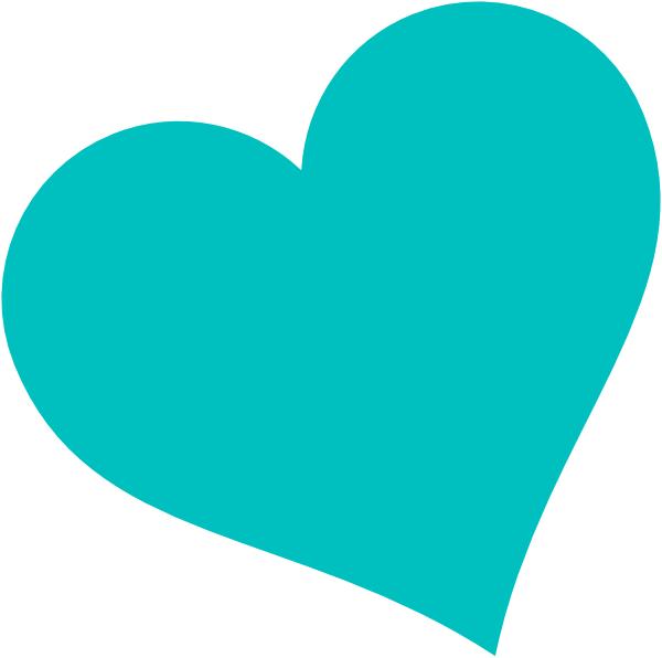 Hearts clipart light blue. Heart panda free images