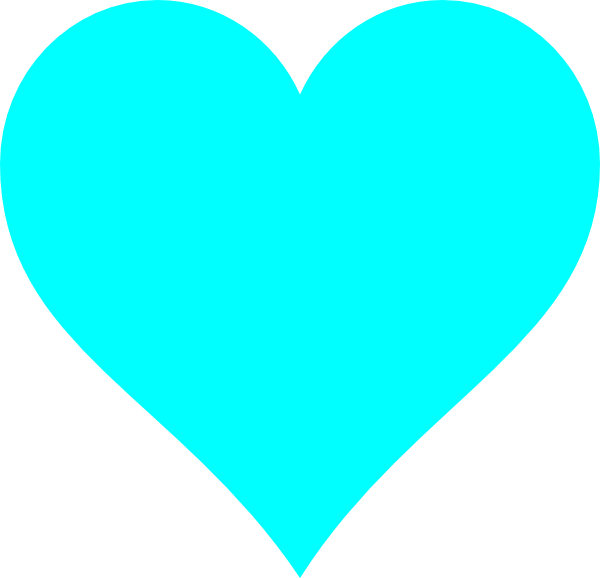 Heart clip art at. Dot clipart light blue