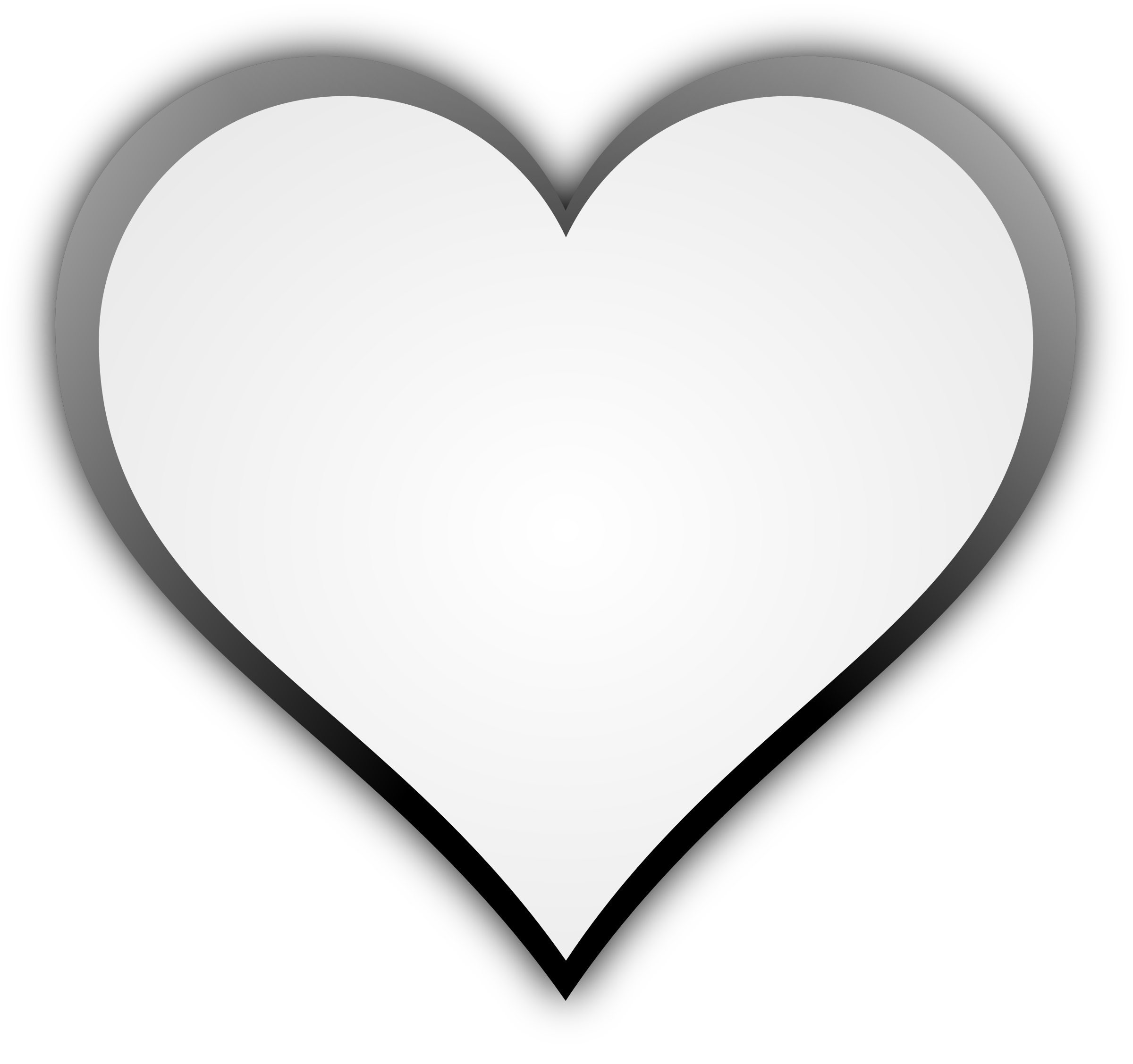 Clipart hearts map. Heart