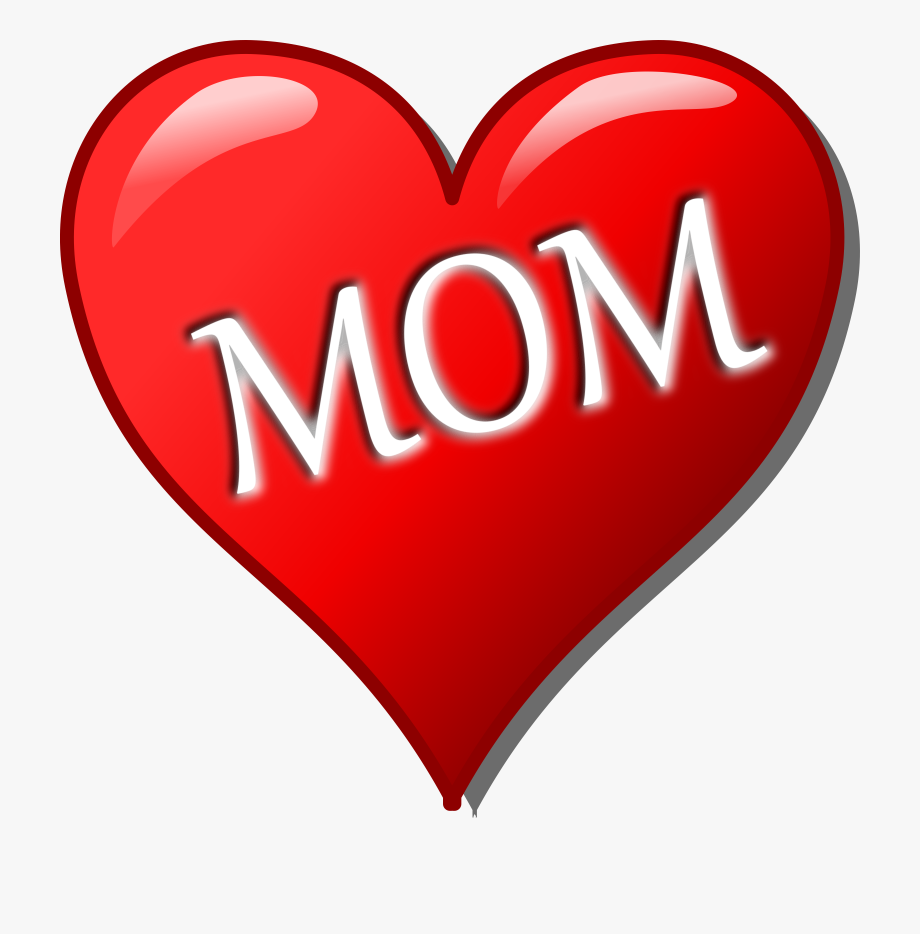 Hearts mothers day mother. Clipart mom heart
