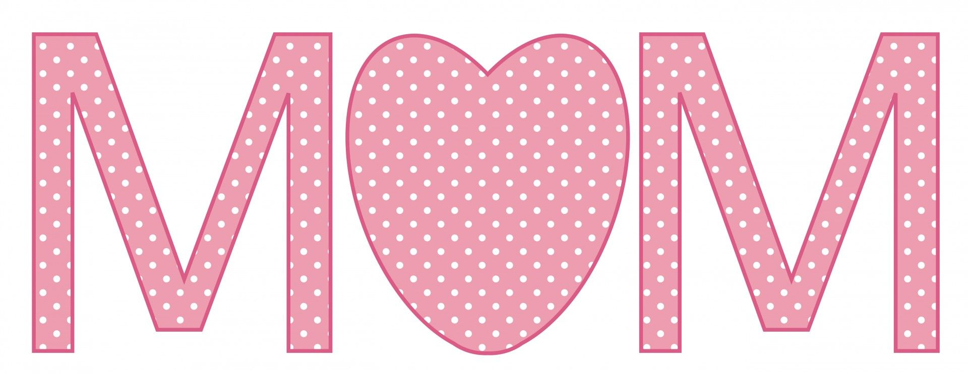 Heart clipart mothers day. Clip art mom text