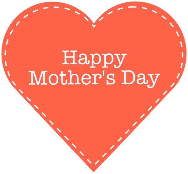 . Heart clipart mothers day