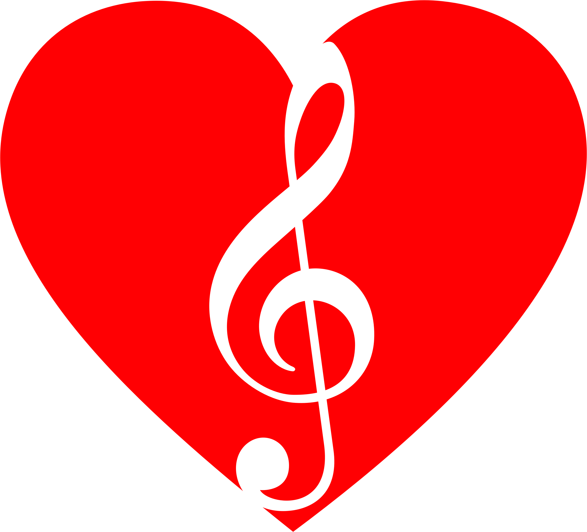 Music clipart heart. Musical big image png