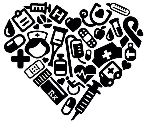 Hearts clipart nurse. Free heart cliparts download