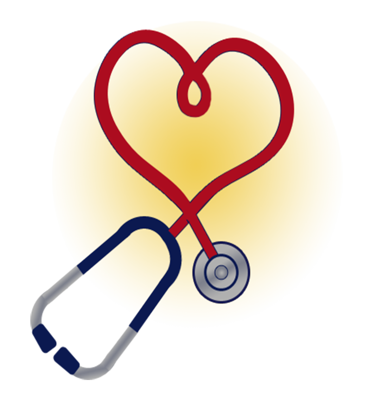 Heart scope to organize. Nurse clipart nurse aide