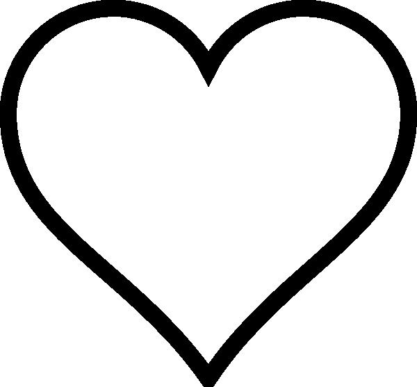 Clip art panda free. Clipart heart outline