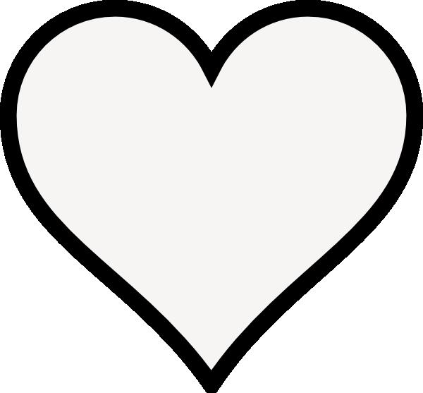 Clip art at clker. Clipart heart outline