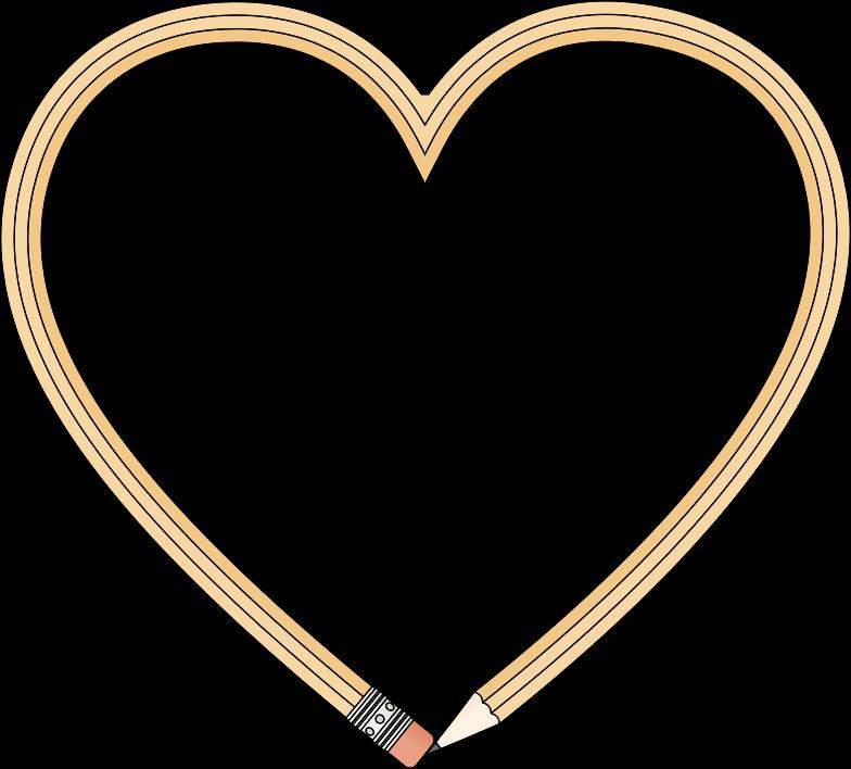 Medium image png . Clipart heart pencil
