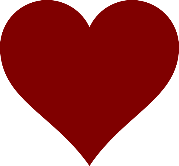 Clipart hearts pencil. Simple drawing of a