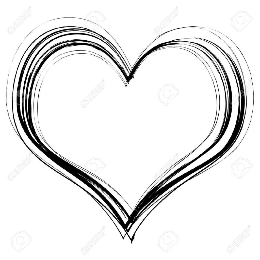 Clipart hearts pencil. Collection of free download
