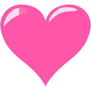 Free heart cliparts download. Hearts clipart pink