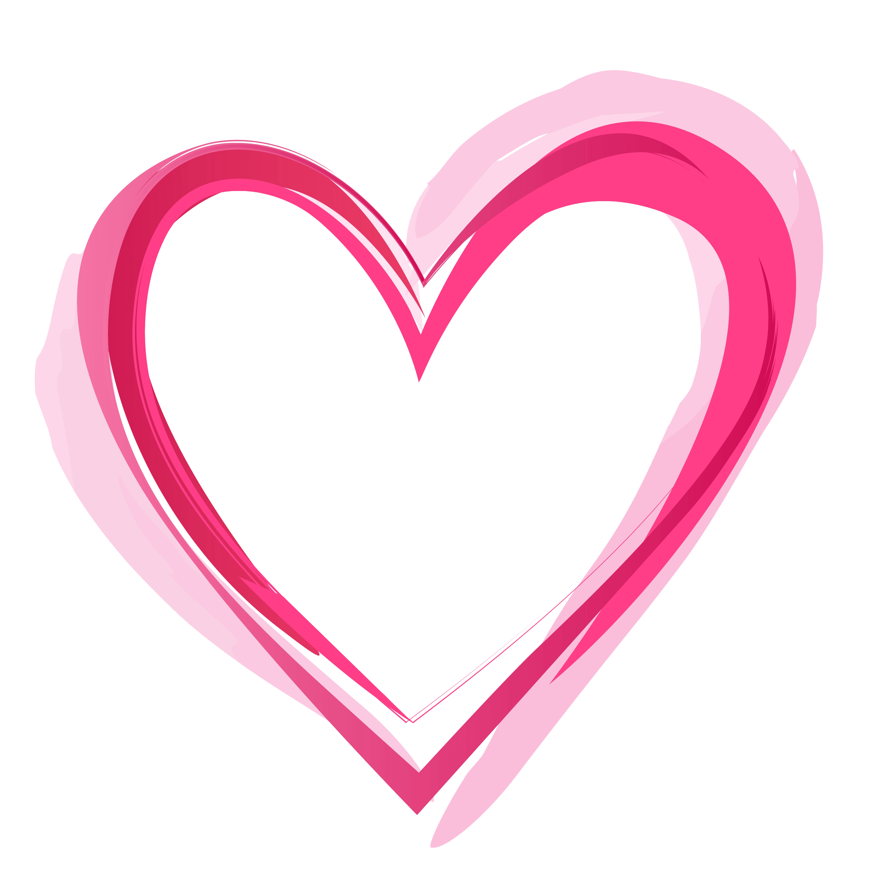 Heart pic . Pink hearts png
