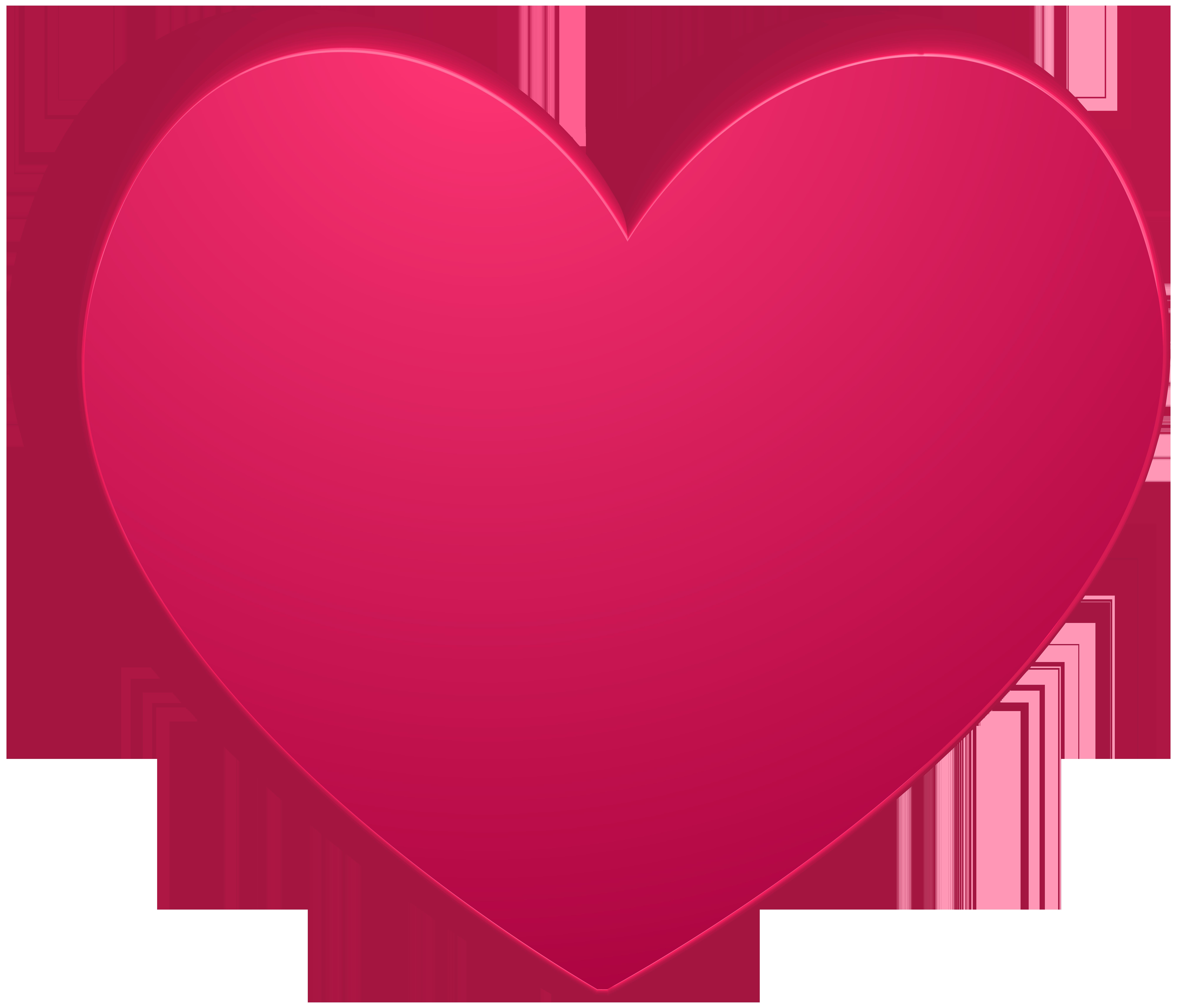 Pink transparent png clip. Clipart rock heart