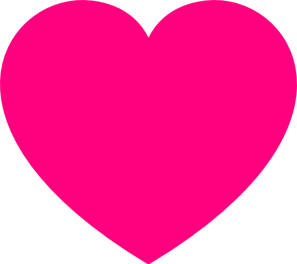 clipart hearts pink