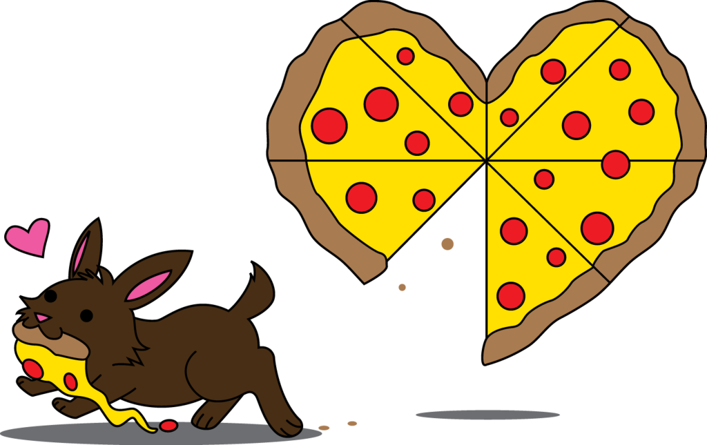 Clipart heart pizza. You ve stolen a