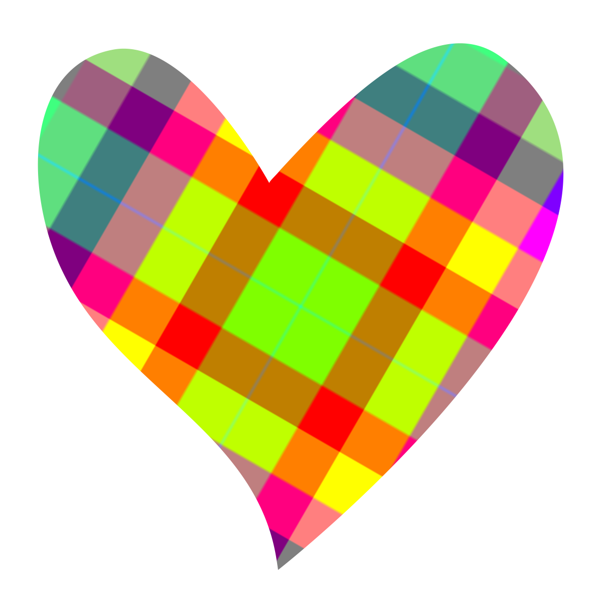 Hearts h pinterest health. Heart clipart plaid