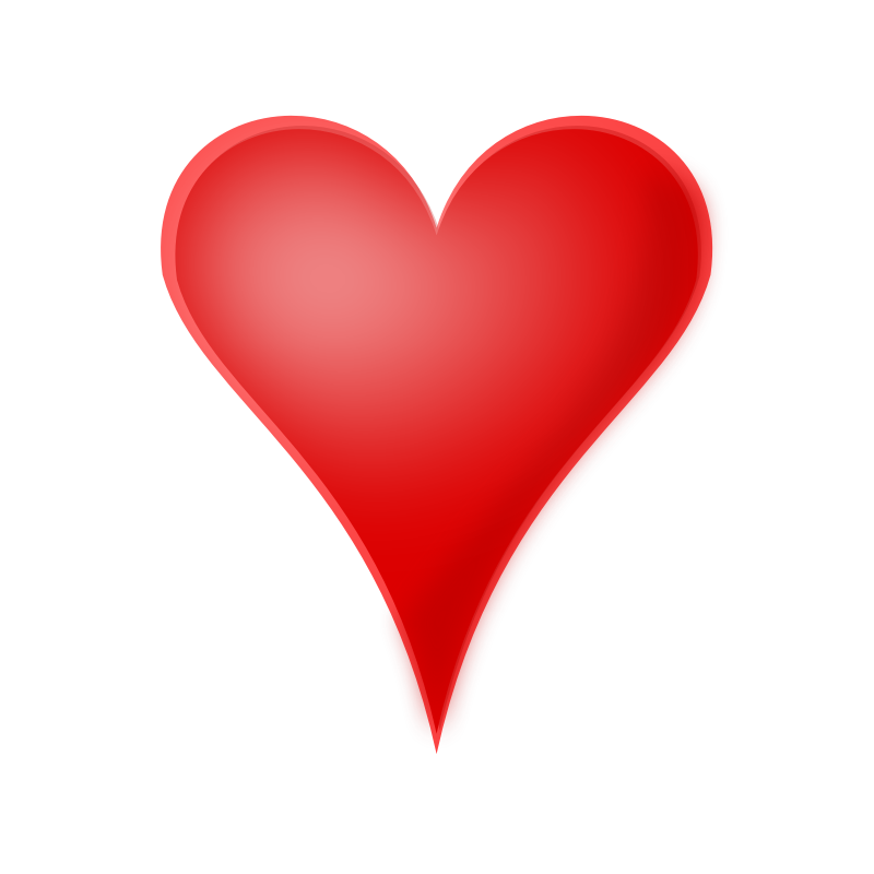 Clipart heart red. Clip art library big
