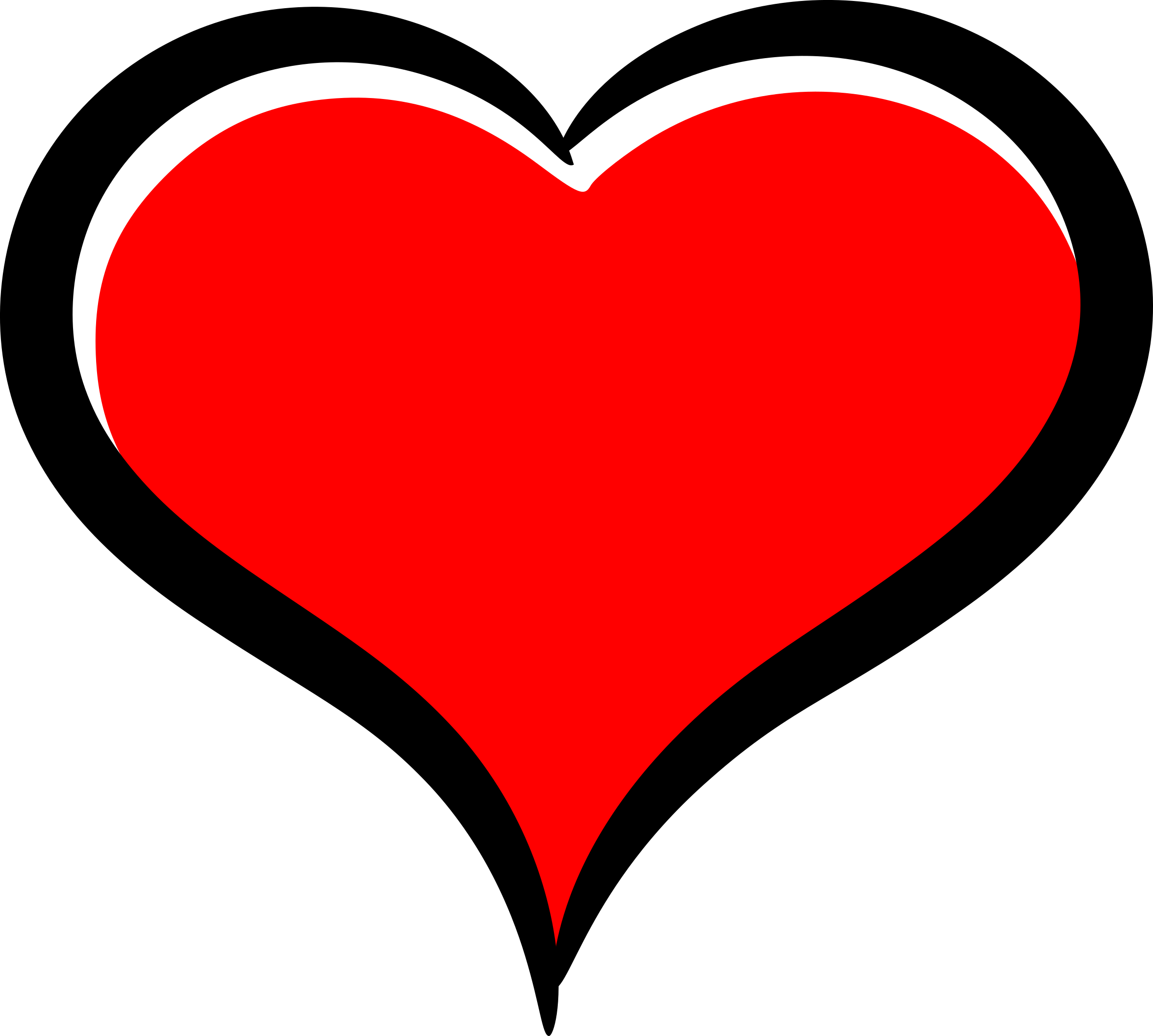 Big image png. Clipart heart red