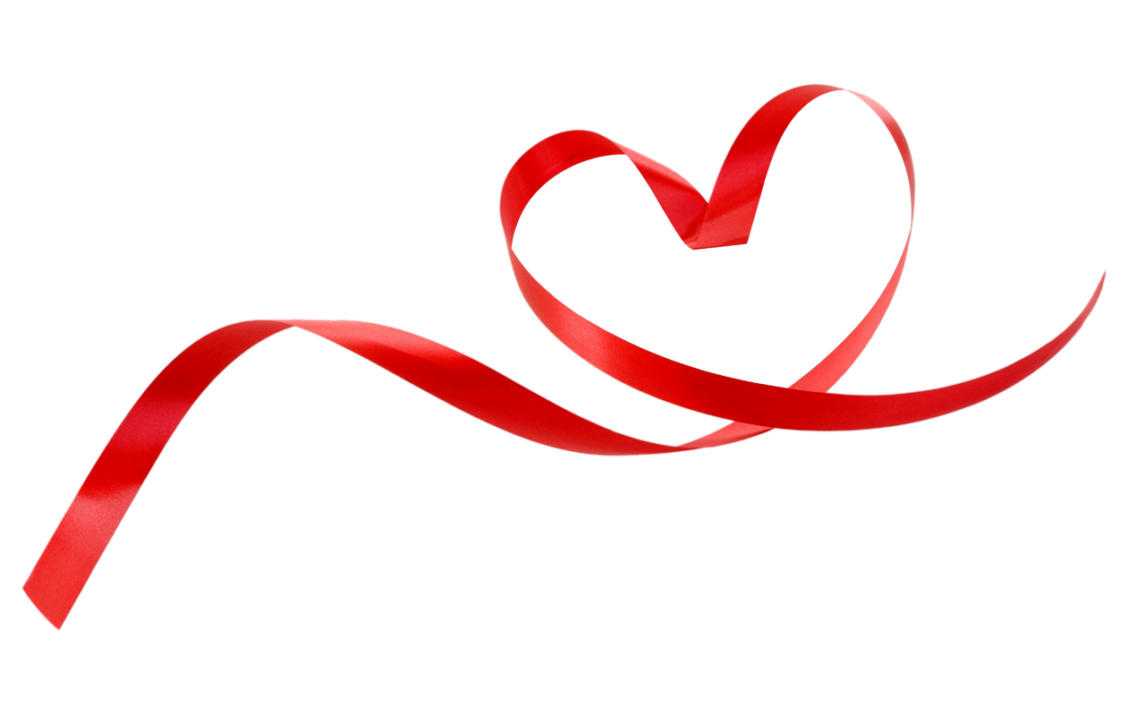 Ribbon clipart style . Heart png images with transparent background