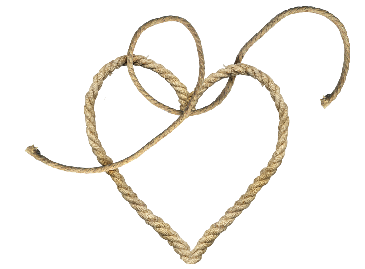 Png image purepng free. Clipart heart rope