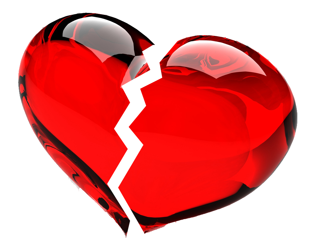 Heart png images with transparent background. Broken clipart mart