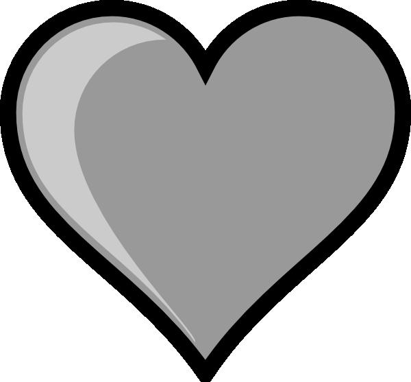 Hearts clipart home. Gray heart clip art