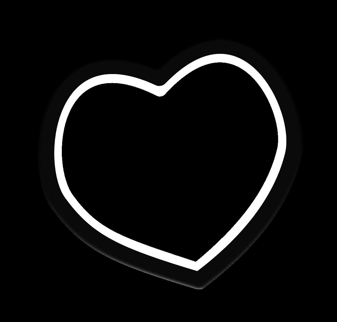Clipart heart scrapbook. Frame clip art black