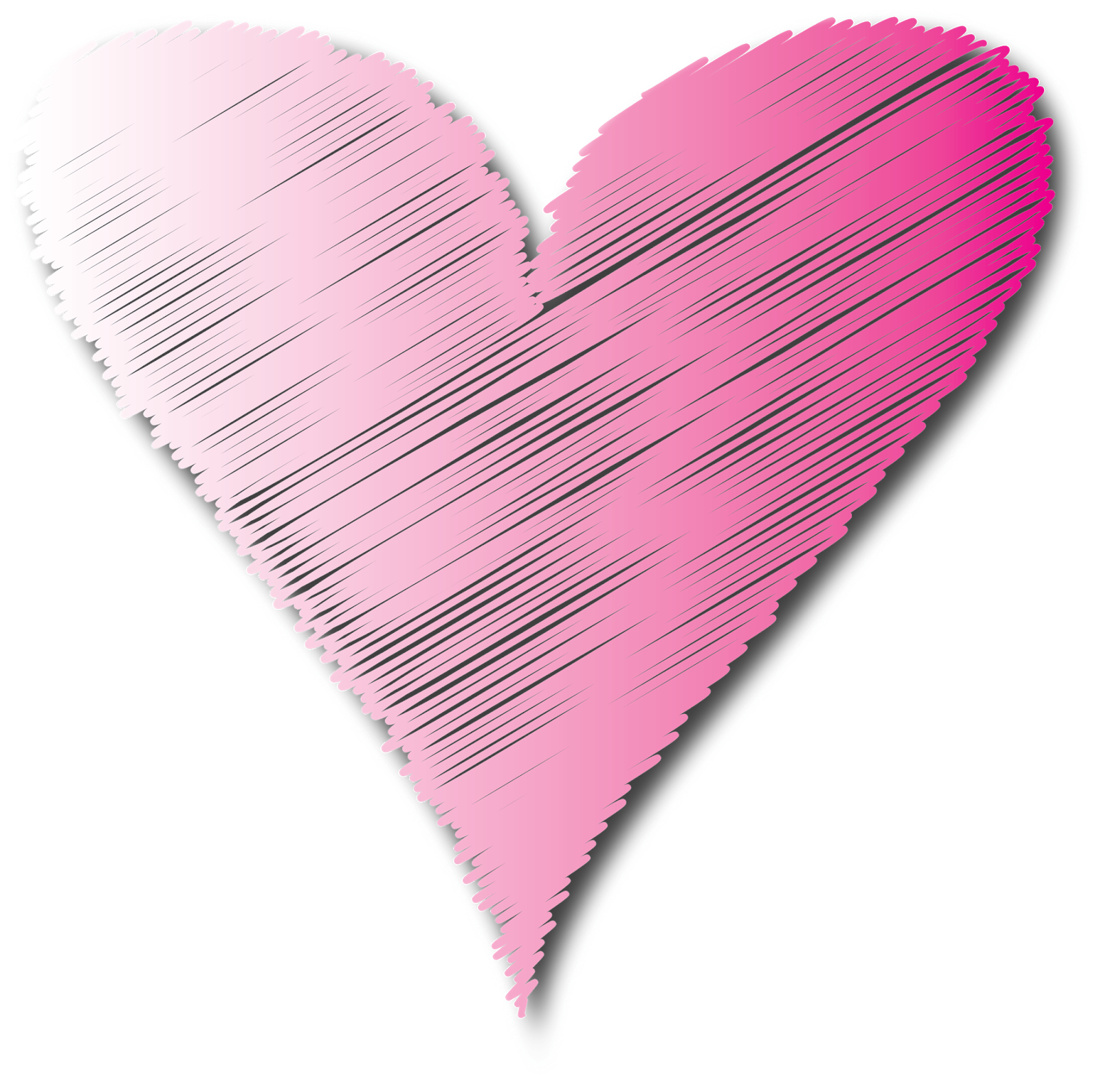 Scribbled graphics i scribbles. Clipart heart scribble