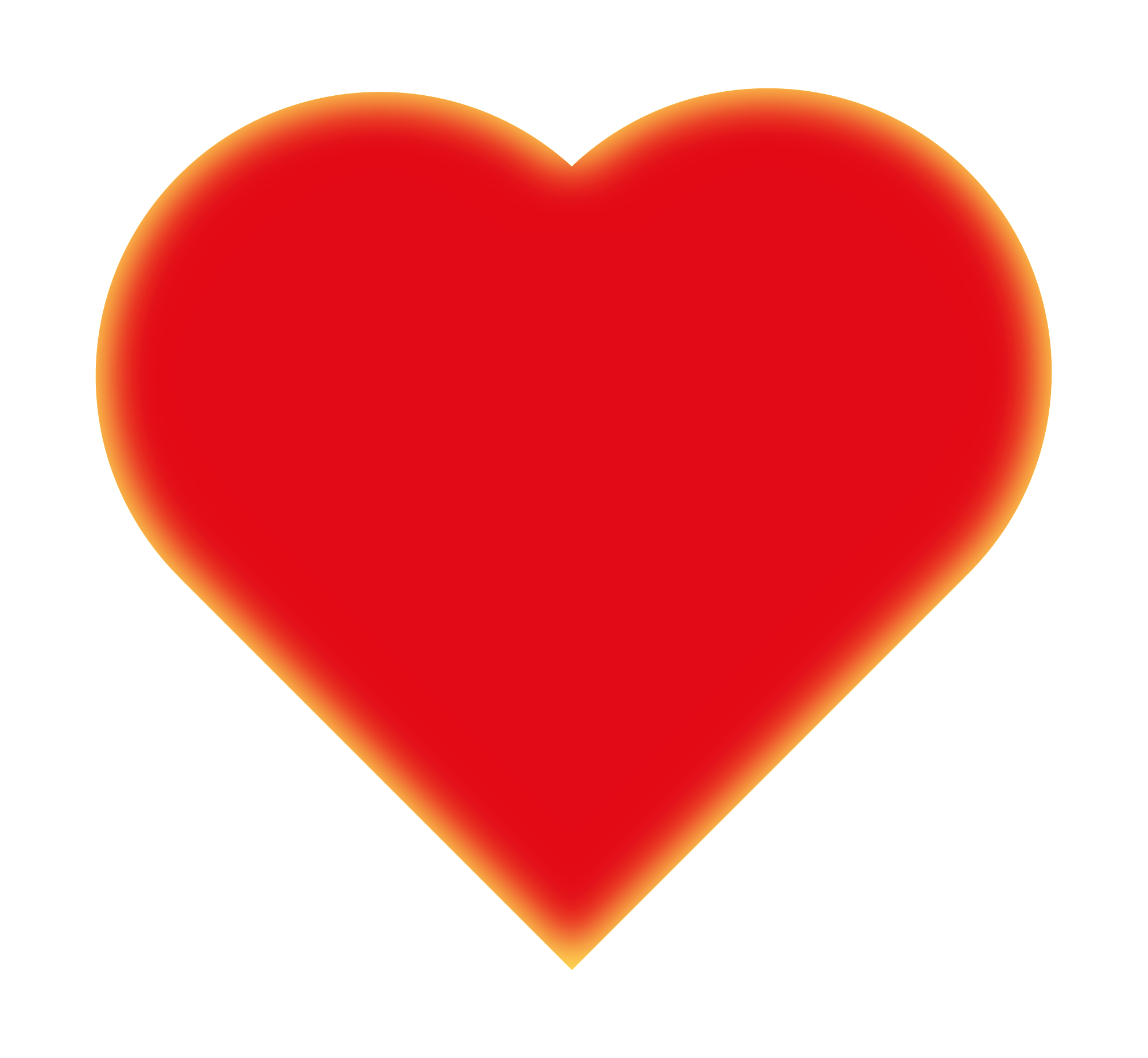 Clipart heart sign. Symbol shop of library