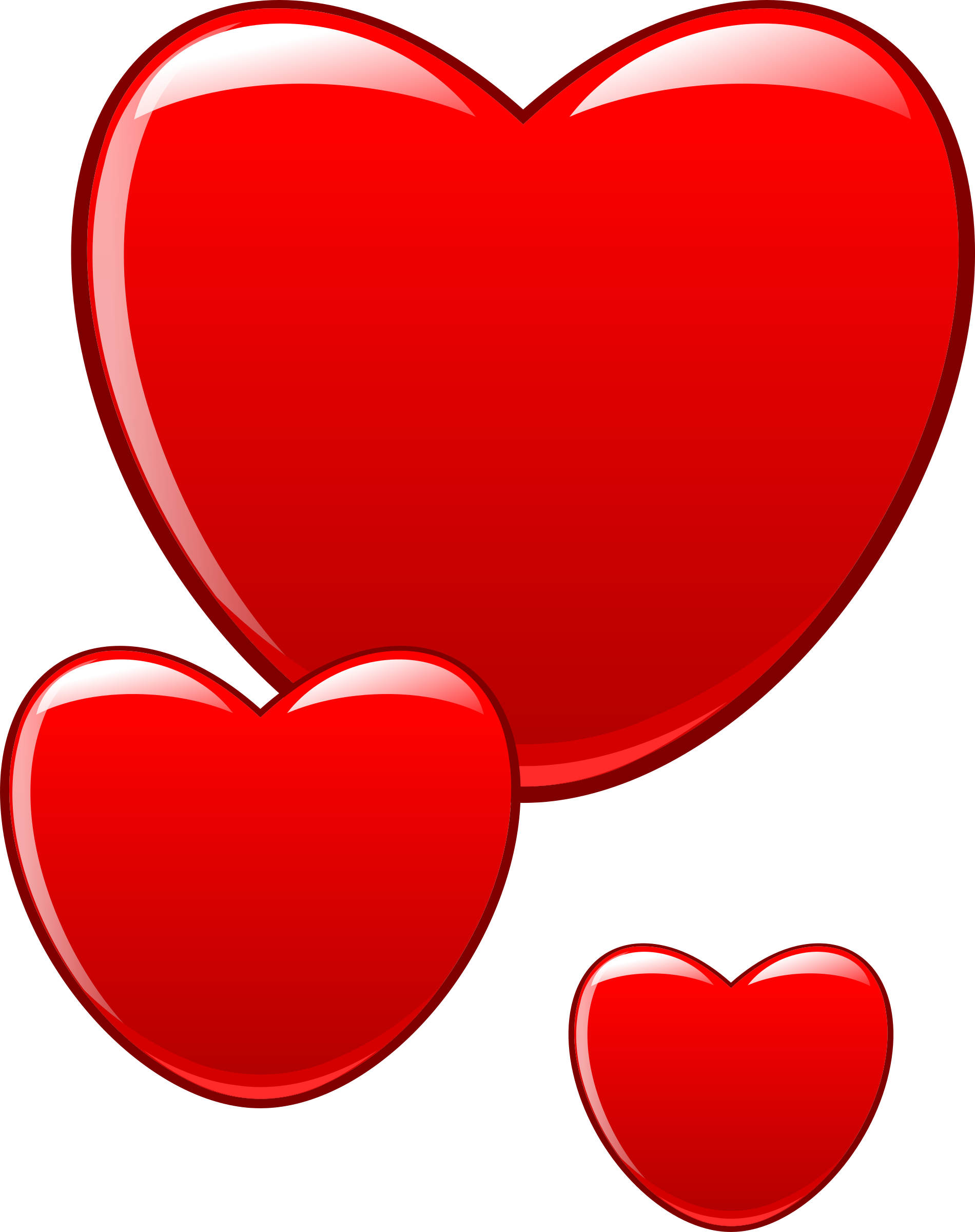Hearts that beat as. Clipart heart sign