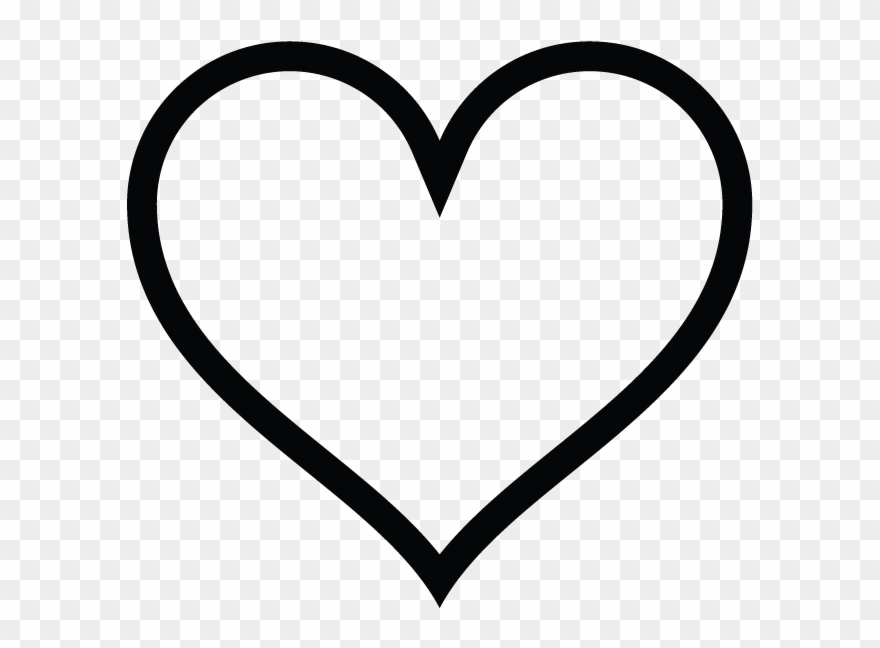 Heart shaped instagram icon. Hearts clipart sign