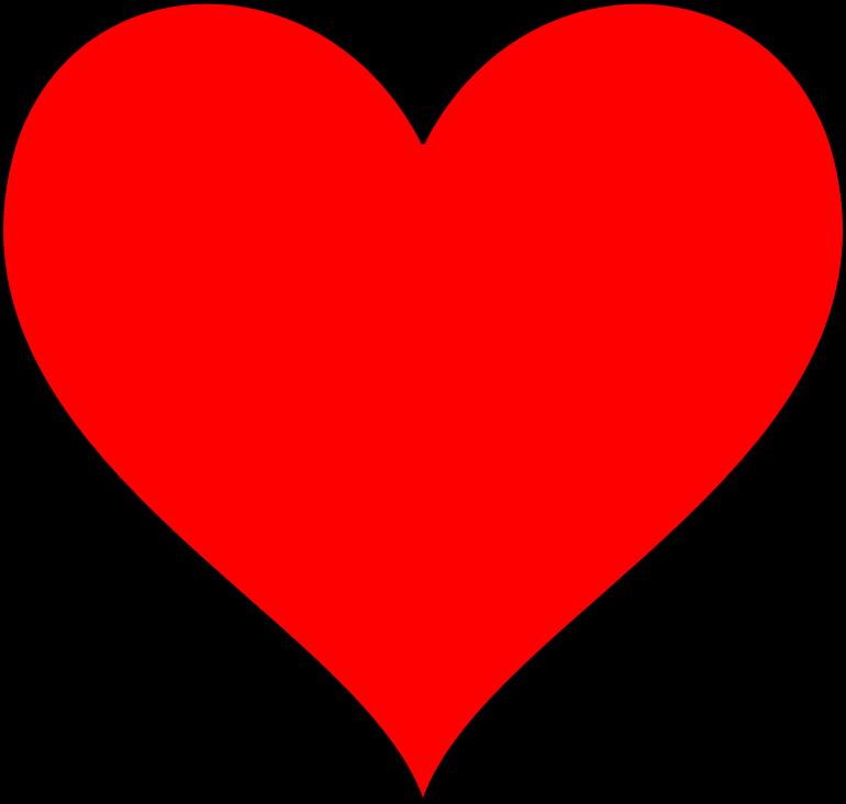 Heart clipart sign. Symbol medium image png