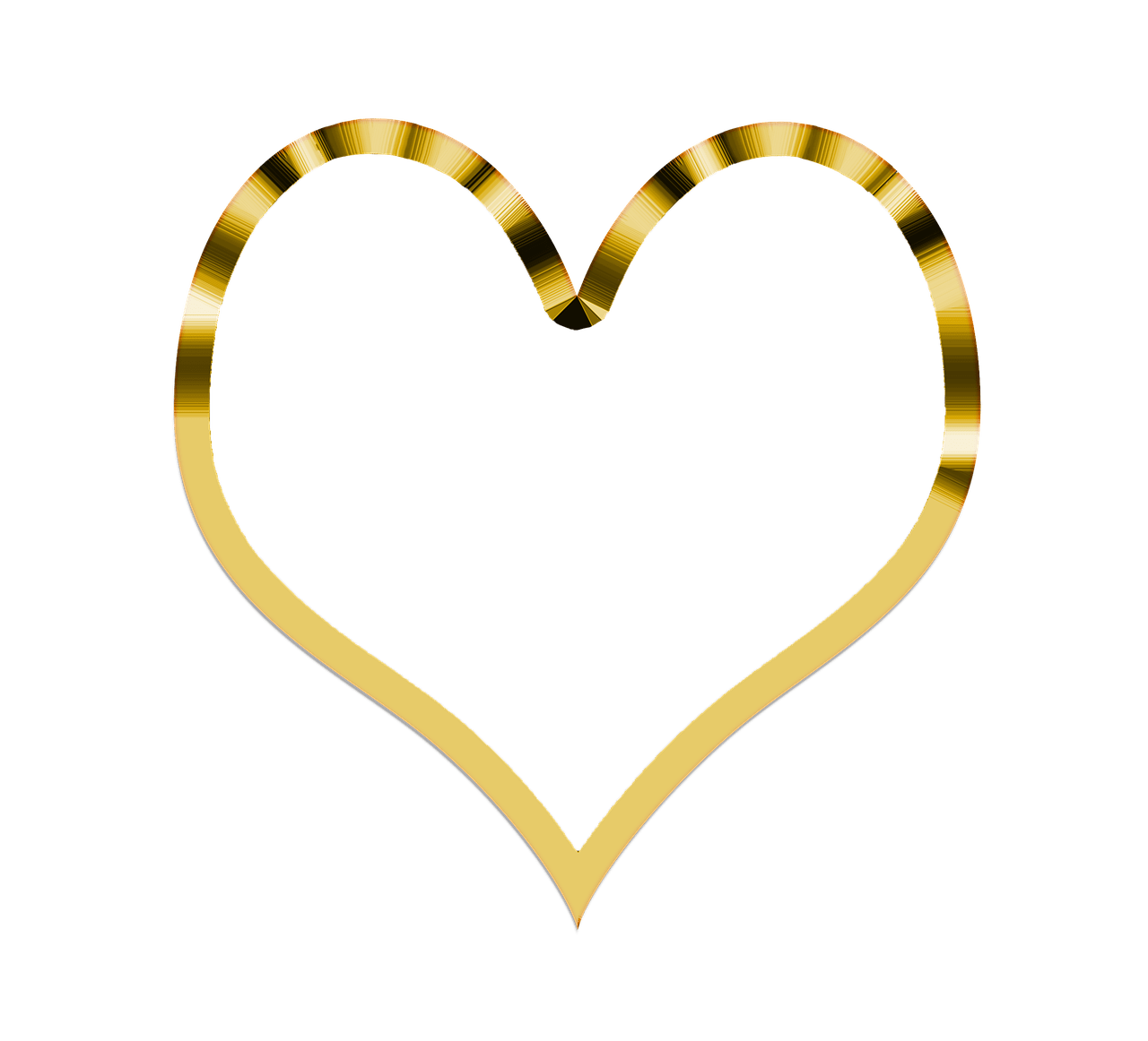 Simple golden transparent png. Lock clipart heart shaped lock