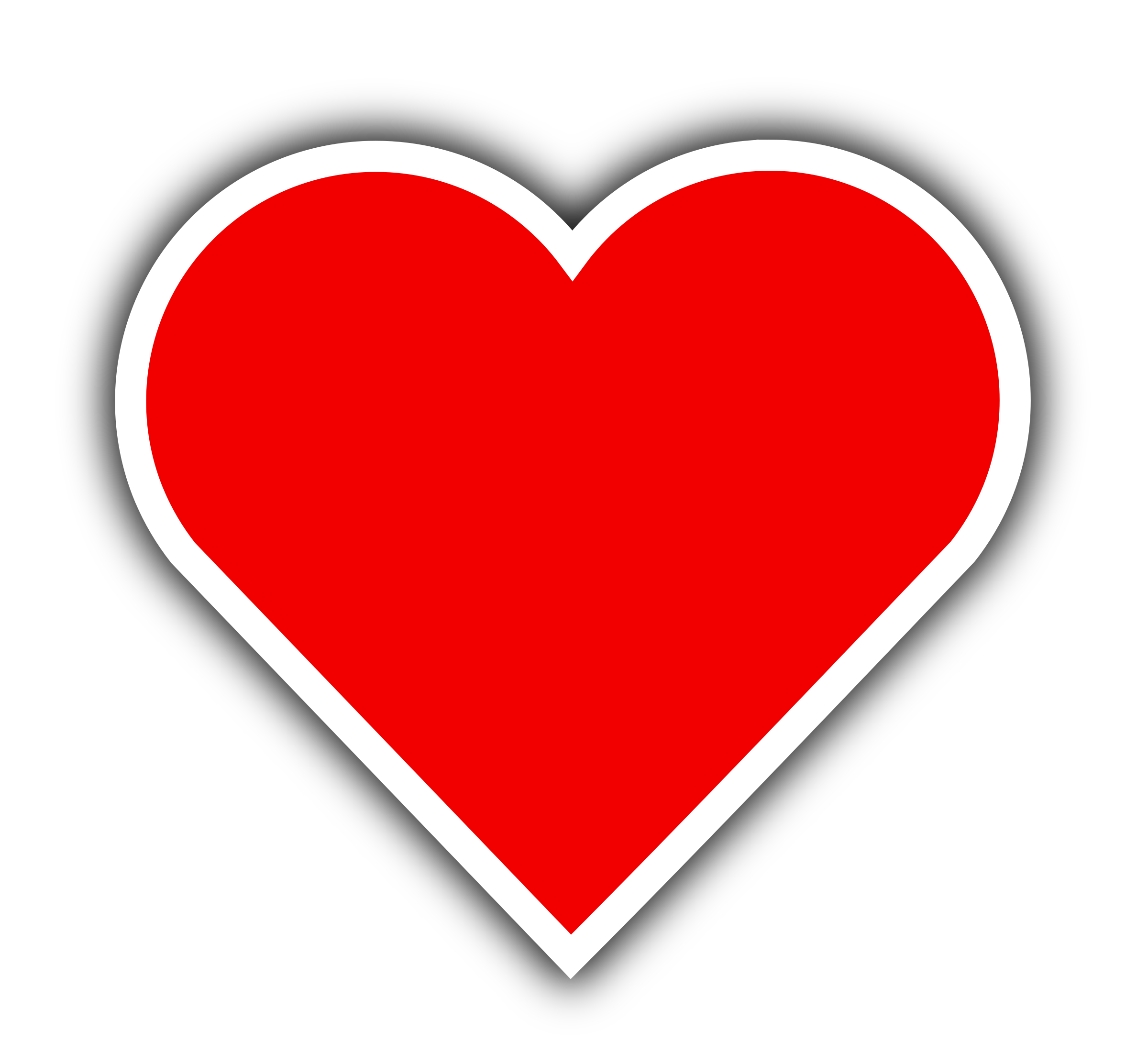 Clipart heart simple. Red big image png