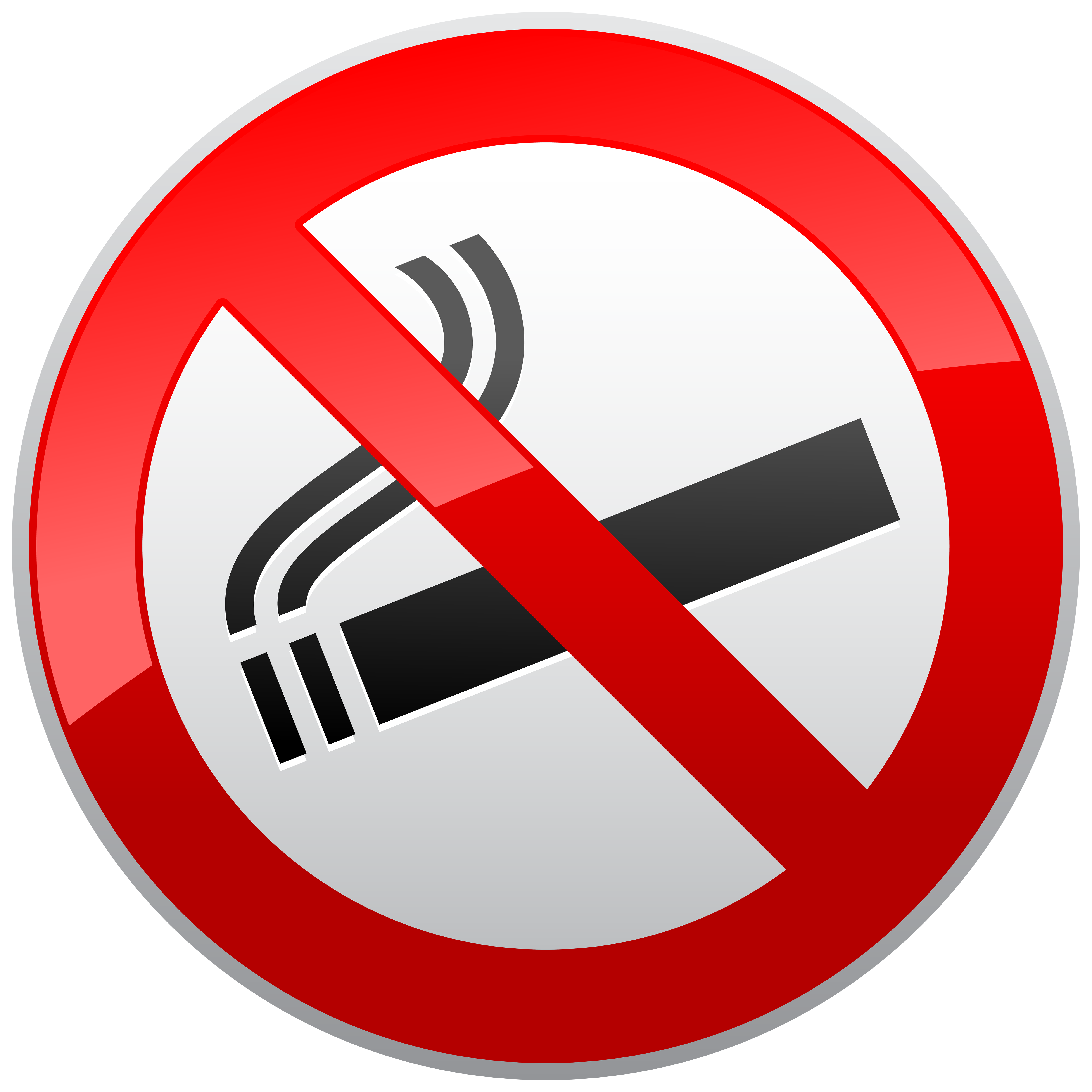 Hearts clipart smoking. No prohibition sign png